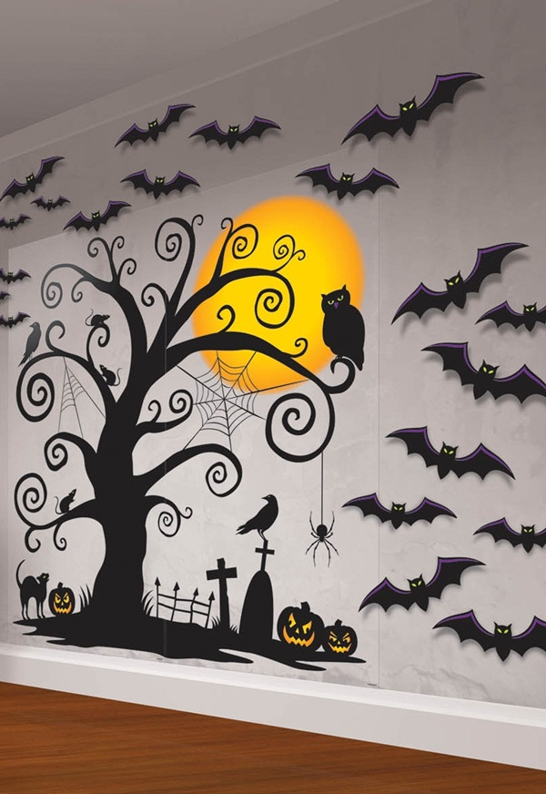 halloween indoor and outdoor decoration ideas6