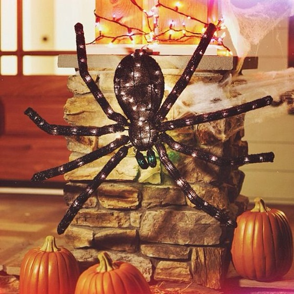 halloween indoor and outdoor decoration ideas70
