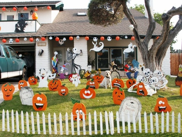 halloween indoor and outdoor decoration ideas71