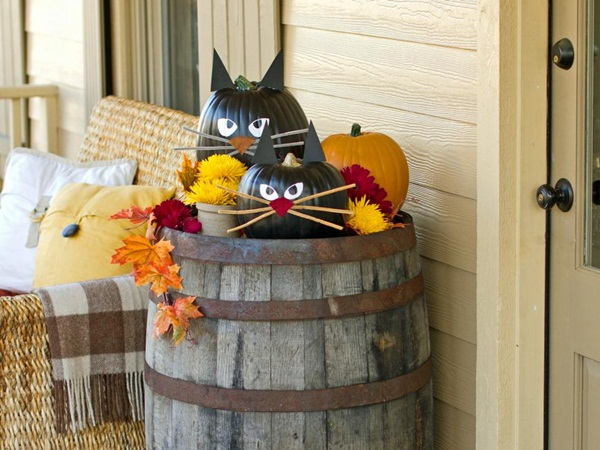 halloween indoor and outdoor decoration ideas81