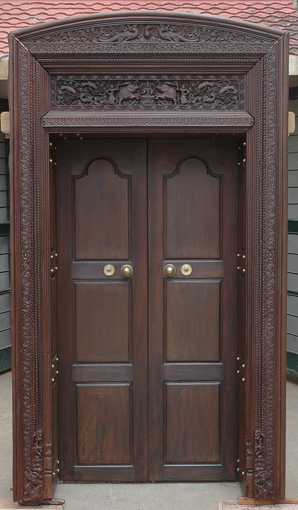 80 alluring front door designs to refine your home for House main double door designs