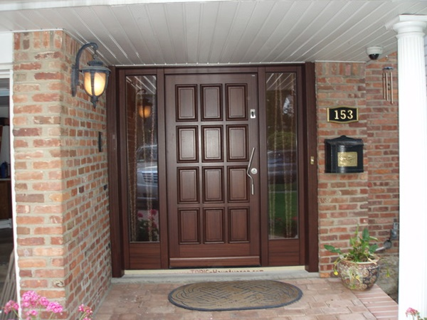 80 alluring front door designs to refine your home for Main entrance door design india