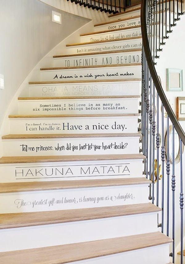 stair decorating ideas (27)