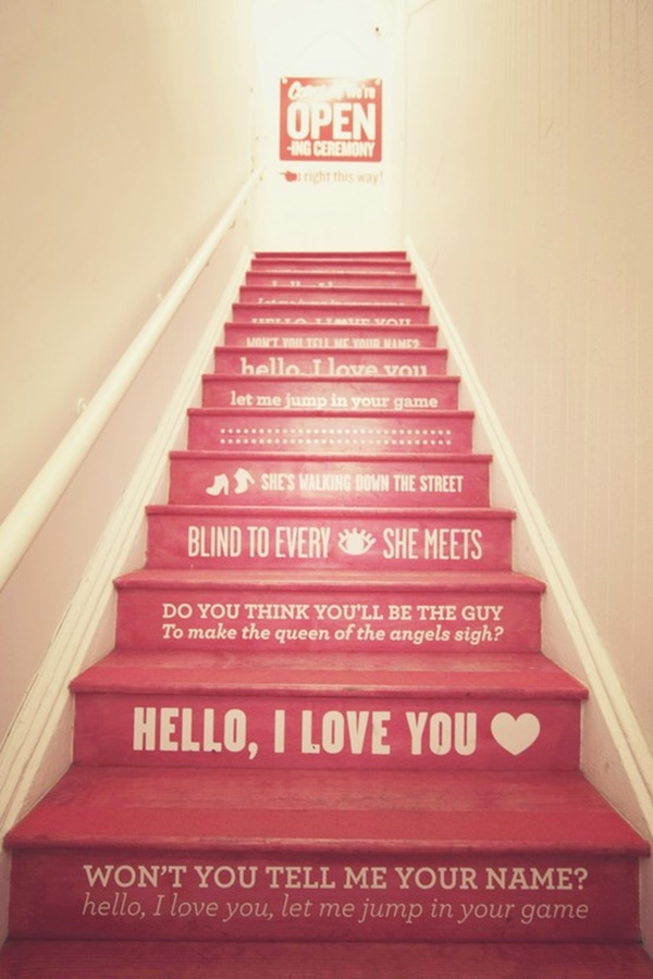 stair decorating ideas (74)