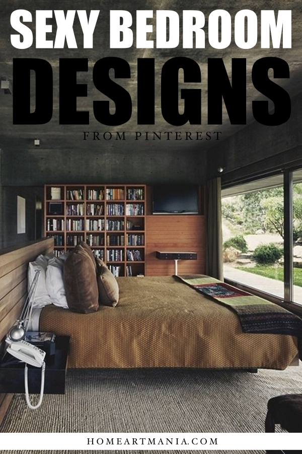 Sexy Bedroom Designs from Pinterest
